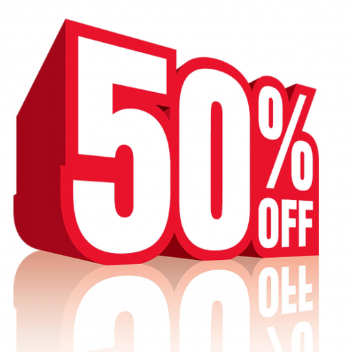 50% OFF ALL FASCIAS, SOFFITS & GUTTERS